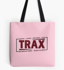 """""""TRAX"""" Records Store - As seen on """"Pretty in Pink"""" - 80's Tote Bag"""