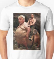 Putin riding Trump Unisex T-Shirt