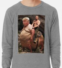 Putin riding Trump Lightweight Sweatshirt