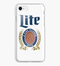 LITE (A FINE PILSNER) BEER iPhone Case/Skin