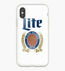 LITE (A FINE PILSNER) BEER iPhone Case