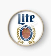 LITE (A FINE PILSNER) BEER Clock