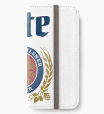LITE (A FINE PILSNER) BEER iPhone Wallet/Case/Skin