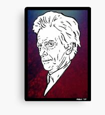 The Doctor is in. Canvas Print