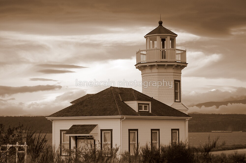 Old Lighthouse~Port Townsend, WA by lanebrain photography