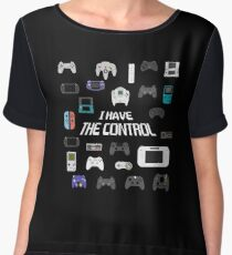 I HAVE THE CONTROL Chiffon Top
