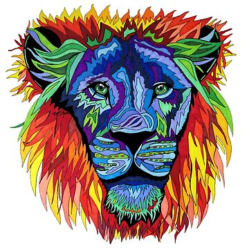 Lion Emerald Eyes by melowyelowlemon