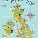 Illustrated British Isles by Pauline Reeves