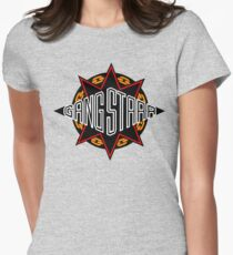 Gang Starr high quality logo Womens Fitted T-Shirt