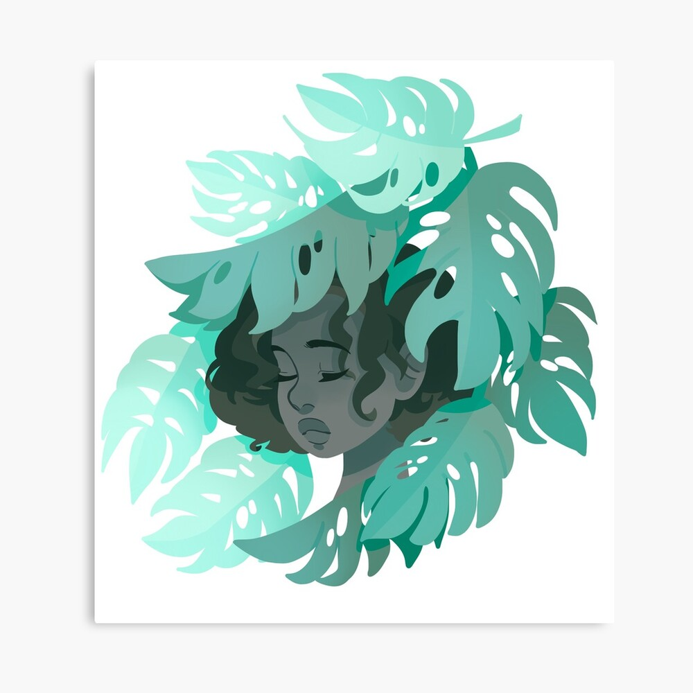 Monstera Deliciosa  Canvas Print