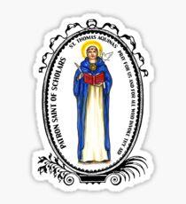 Saint Thomas Aquinas Patron of Scholars Sticker