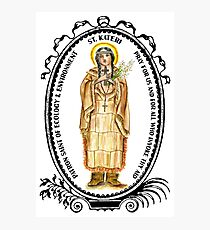 Saint Kateri Patron of Ecology & Environment Photographic Print
