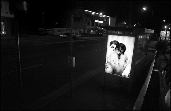 Urban Landscape # 2 Parramatta Rd Bus Stop by Juilee  Pryor