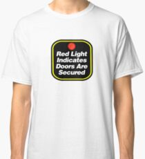 Arctic Monkeys - Red Light Indicates Doors are Secured Classic T-Shirt