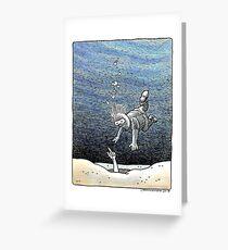 Deepest Desire by John Howard Greeting Card