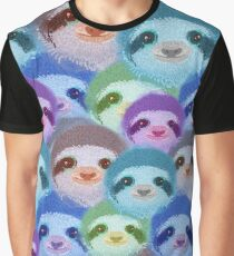Psychedelic sloths Graphic T-Shirt