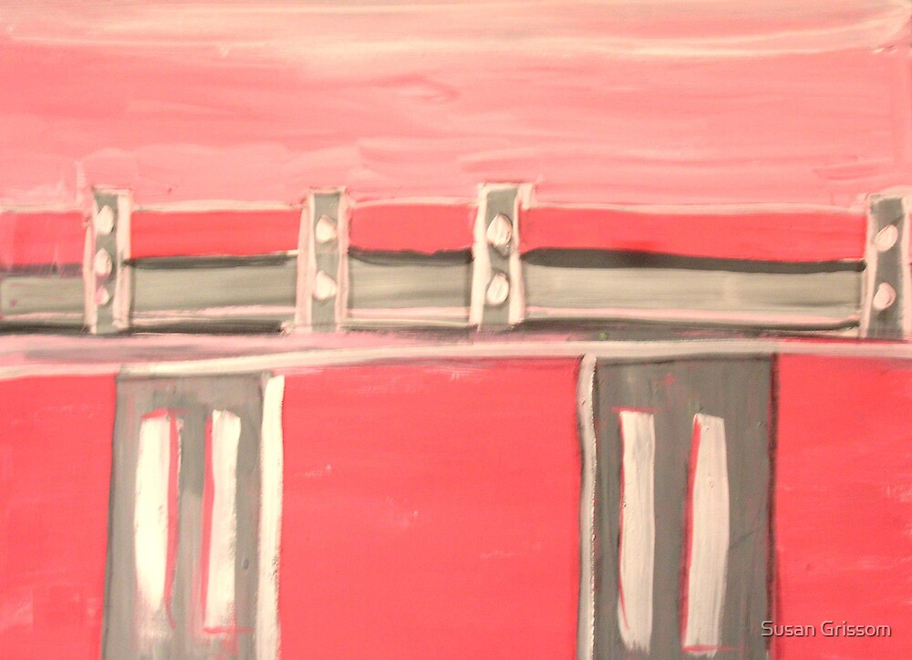 Pink Bridge by Susan Grissom