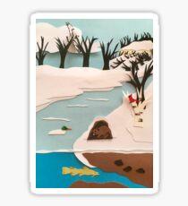 Mississippi River, Lacrosse, Wisconsin  Sticker