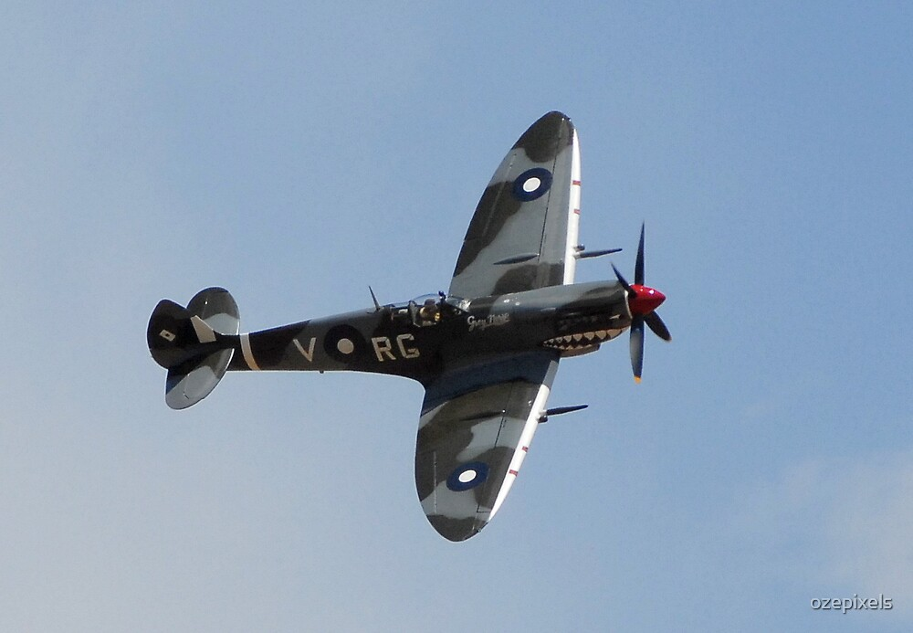 Supermarine Spitfire Mk VIII by ozepixels