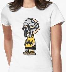 MF Doom x Charlie Brown Original Womens Fitted T-Shirt