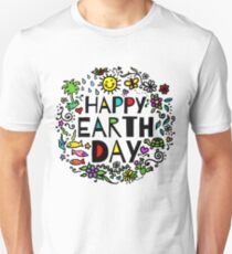 Happy Earth Day Unisex T-Shirt