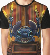 Stitch Gargoyle by Topher Adam 2017 Graphic T-Shirt