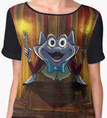 Mr Toad's Another Bright Idea by Topher Adam 2017 Chiffon Top