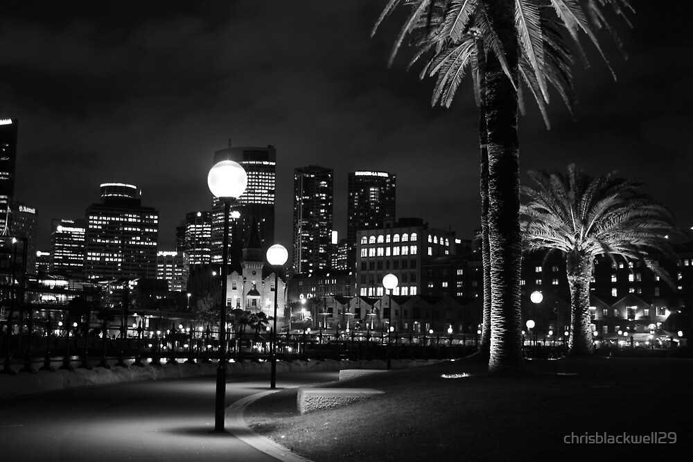 black and white  by night  by chrisblackwell29