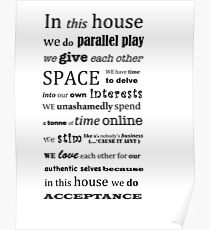 In This House by Leah Kelley Poster