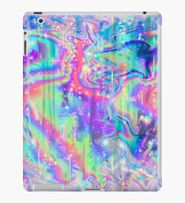 Vinilo o funda para iPad Textura holográfica psicodélica