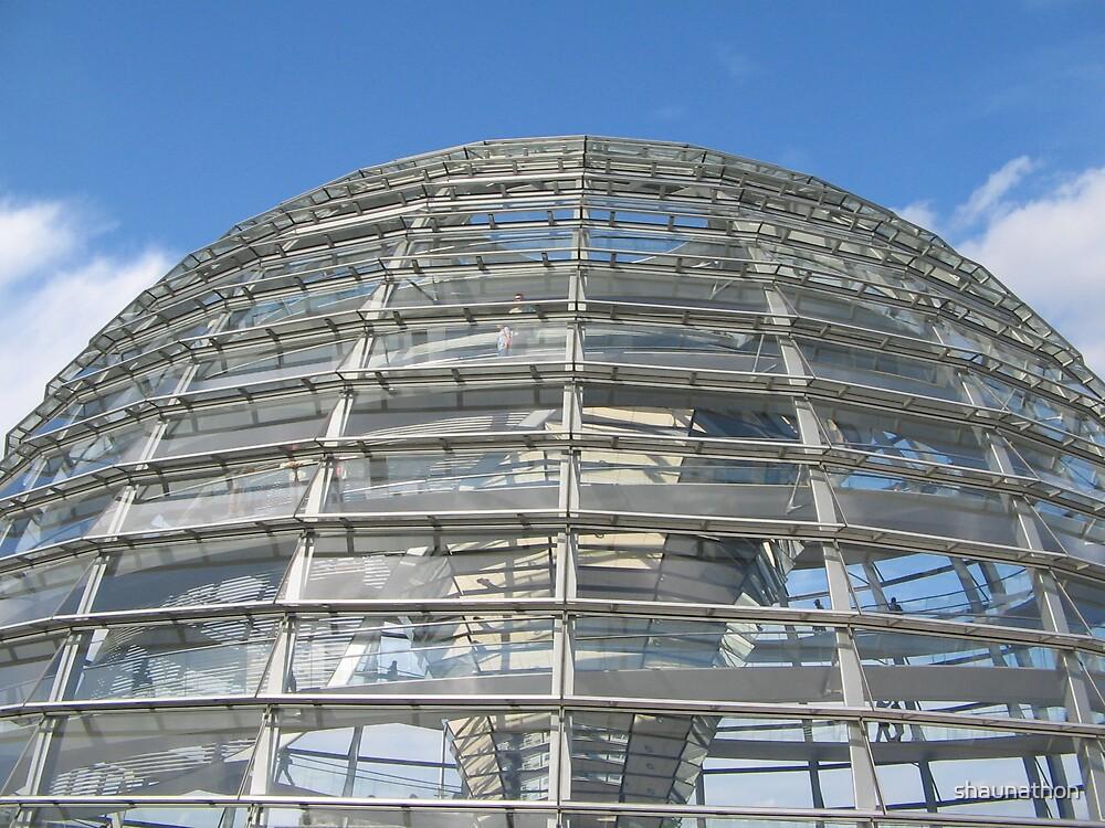 Reichtag Dome, Berlin by shaunathon