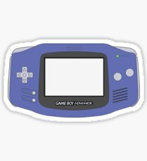 Game Boy Advance Sticker