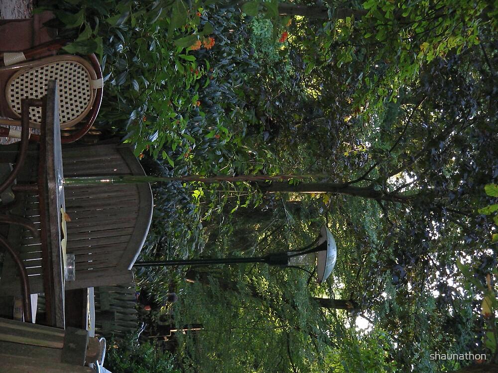 Garden Retreat by shaunathon