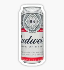 Budweiser Can Sticker
