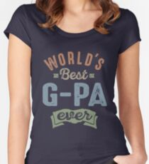 World's Best G-Pa Women's Fitted Scoop T-Shirt