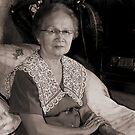 Portrait Of Grandma by Teody Gaspar