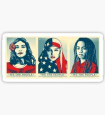 Women's March Official Poster 2017 HD Sticker