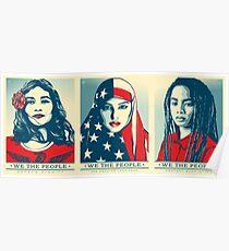 Offizielles Plakat 2017 der Frauen März HD Poster