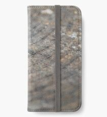 Acorn cap on tree trunk iPhone Wallet/Case/Skin