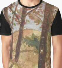 Smoky mountains in Autumn Graphic T-Shirt