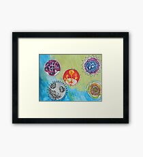Pretty Bacteria Framed Print
