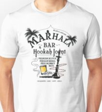 Marhala Bar - Indiana Jones Hookah Joint Unisex T-Shirt