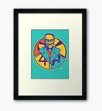 "Stan ""The Man"" Lee Framed Print"