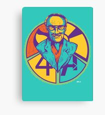 "Stan ""The Man"" Lee Canvas Print"