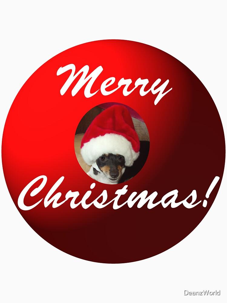 Merry Christmas! From Santa Mickey by DeanzWorld