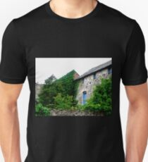 The House behind the Wall, Ramelton, Donegal, Ireland Unisex T-Shirt