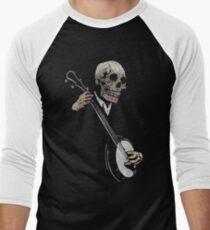 Camiseta ¾ bicolor para hombre Skullboys 'Banjo Blues
