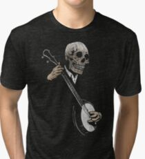 Skullboys' Banjo Blues Tri-blend T-Shirt