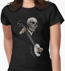 Skullboys' Banjo Blues Womens Fitted T-Shirt