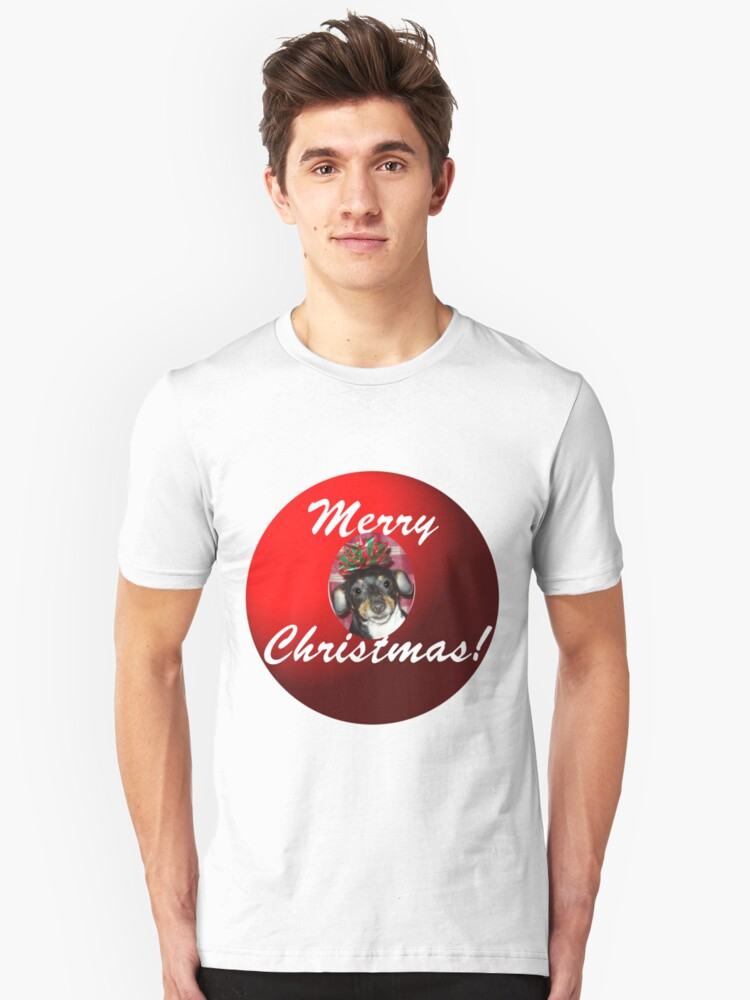 Merry Christmas! How'd you like this under your tree? Unisex T-Shirt Front